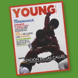 Portada marzo Revista YOUNG