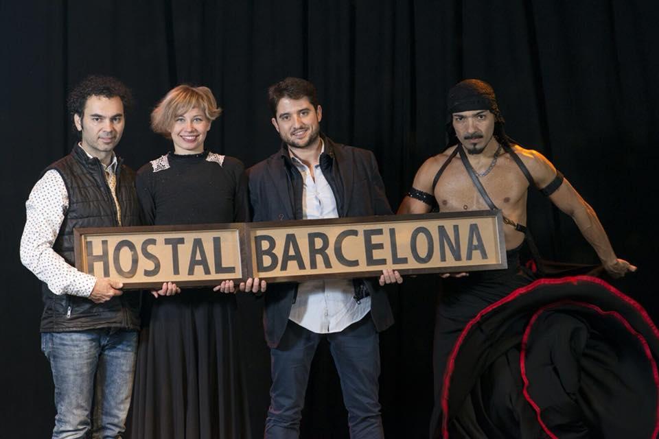 Hostal barcelona el musical rese a sala muntaner for Sala muntaner barcelona