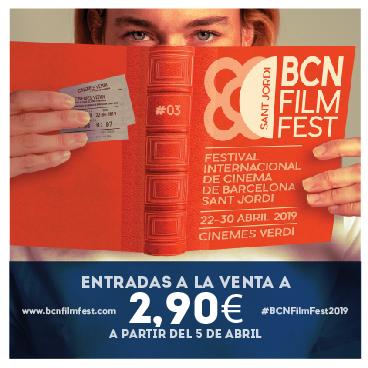 Vine't al cinema a la Sant Jordi BCN Film Fetsival