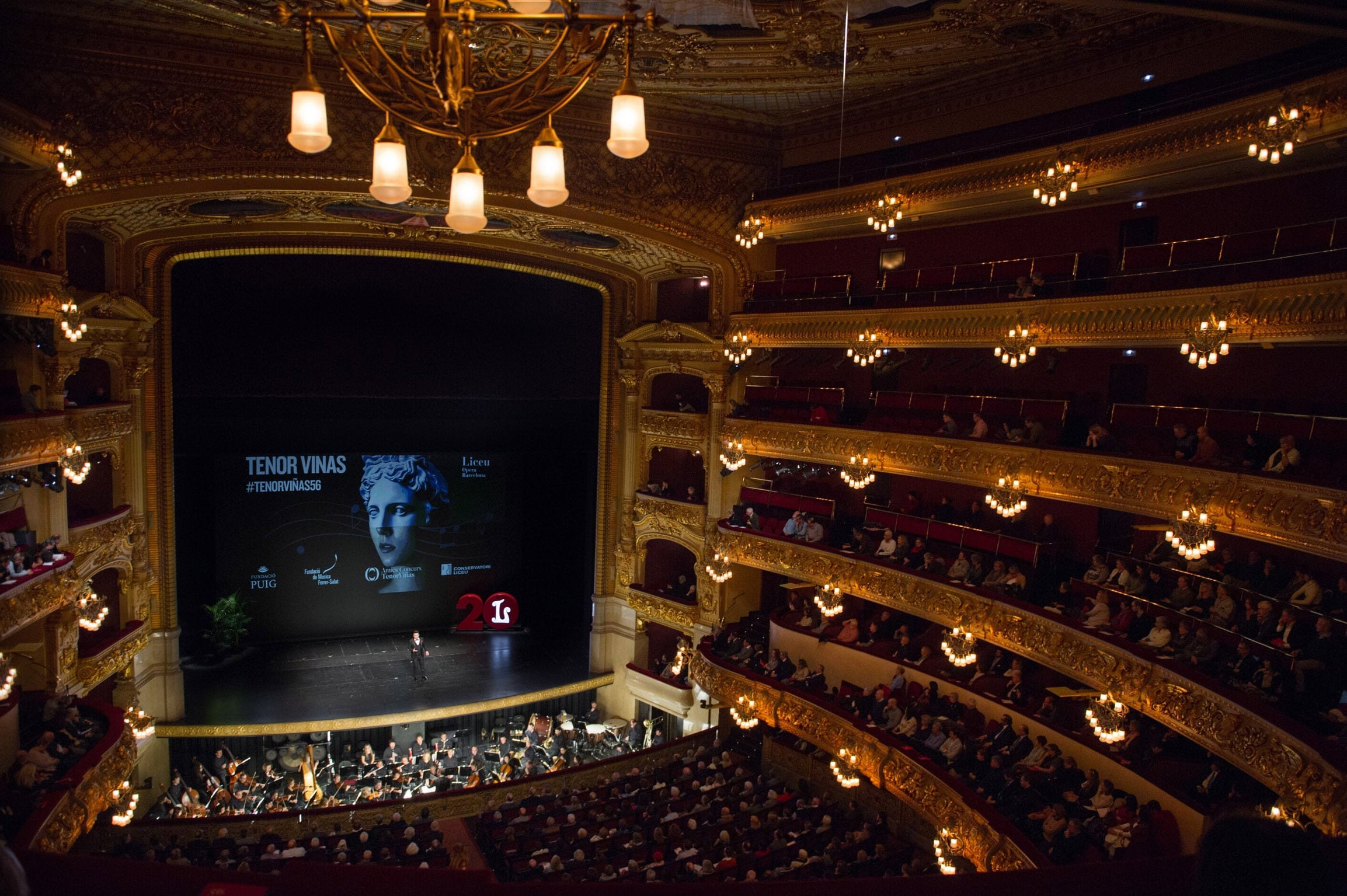 El Gran teatre del Liceo de Barcelona