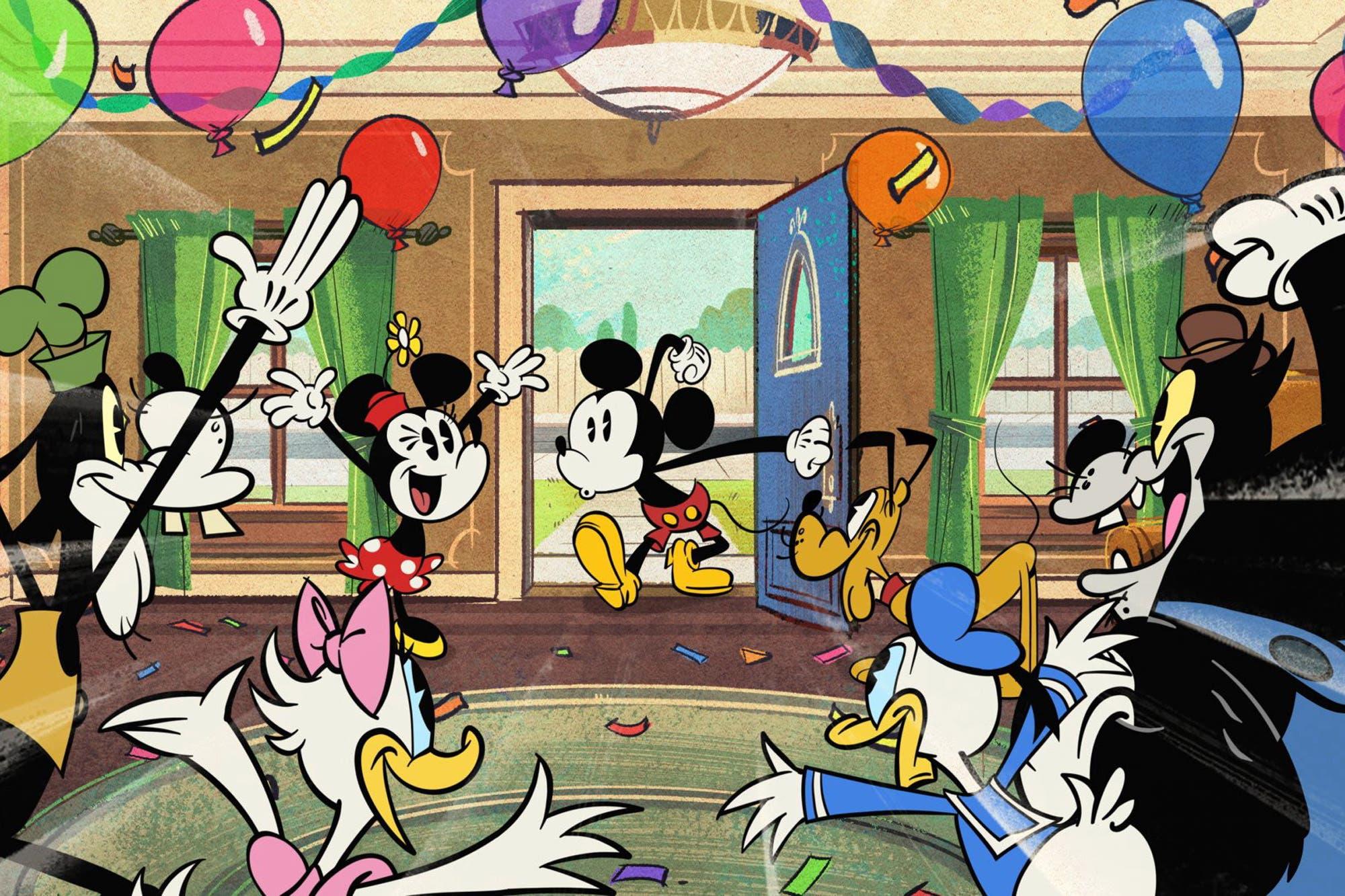 Disney+ celebrará el cumpleaños de Mickey Mouse